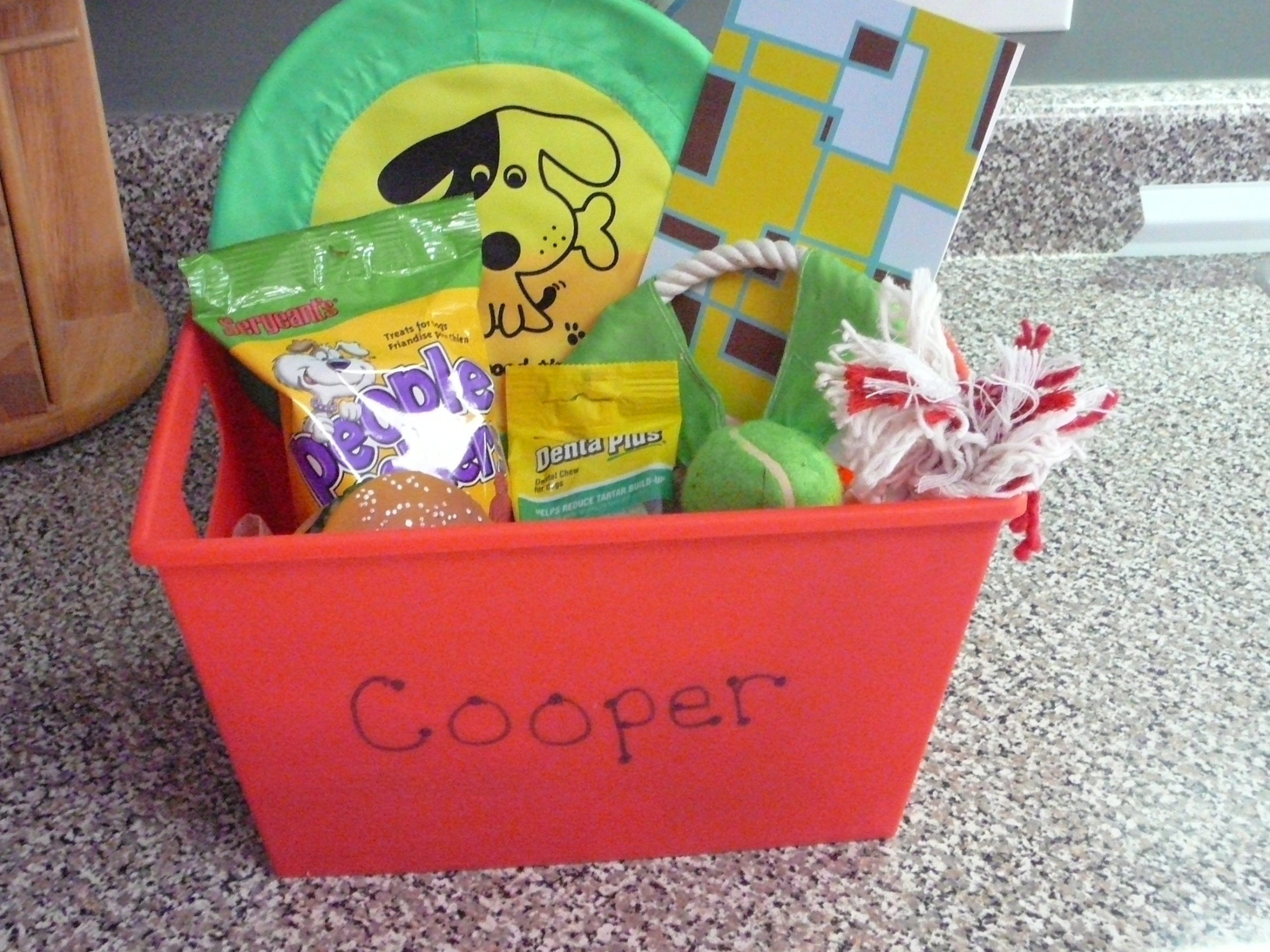 Cooper's Gift Basket from TC