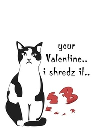 Anti Valentines Cat